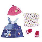 """Одежда для куклы BABY born """"Джинсовая коллекция"""", платье"""