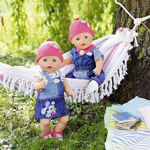"""Одежда для куклы BABY born """"Джинсовая коллекция"""", платье от Zapf Creation"""