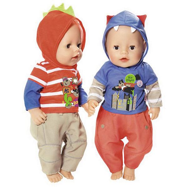 Одежда для  мальчика BABY born оранжево-бежевая