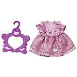 Платье Baby Annabell ярко - розовое