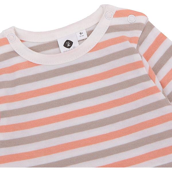 Комплект: футболка с длинным рукавом и комбинезон Z Generation для мальчика