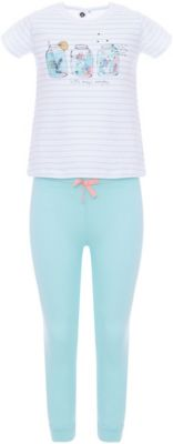 Пижама Z Generation для девочки - голубой