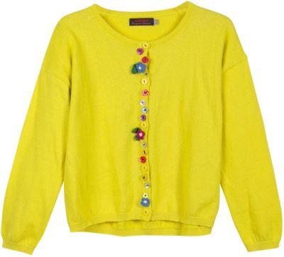 Кардиган Catimini для девочки - желтый