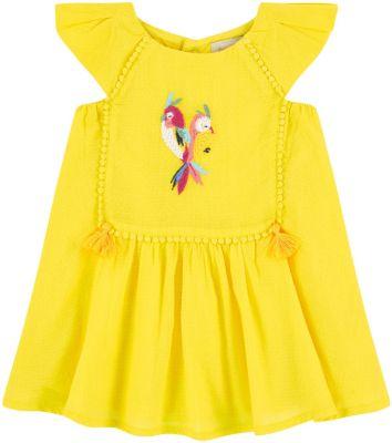 Платье Catimini для девочки - желтый
