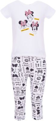 Пижама Z Generation для девочки - белый