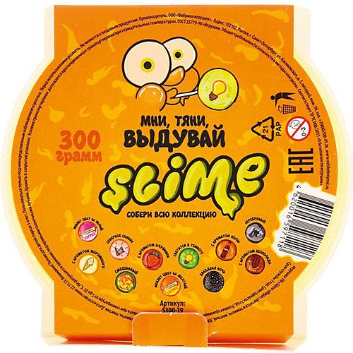 Лизун Slime Mega светится в темноте, желтый от Волшебный мир