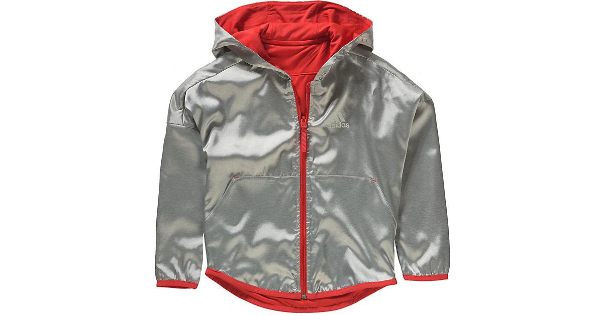 ADIDAS PERFORMANCE · Trainingsjacke Gr. 110 Mädchen Kleinkinder