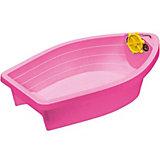 Бассейн - Лодочка с покрытием  PalPlay, розовая