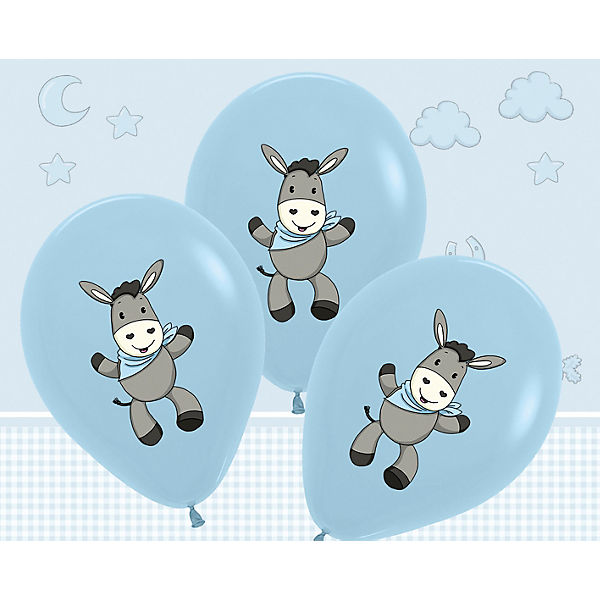 Dekoset Babyshower Babyshower Dekoset blau, 31-tlg., Happy People c2723d