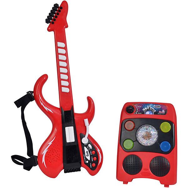 MMW Disco Gitarre mit Verstärker, Simba