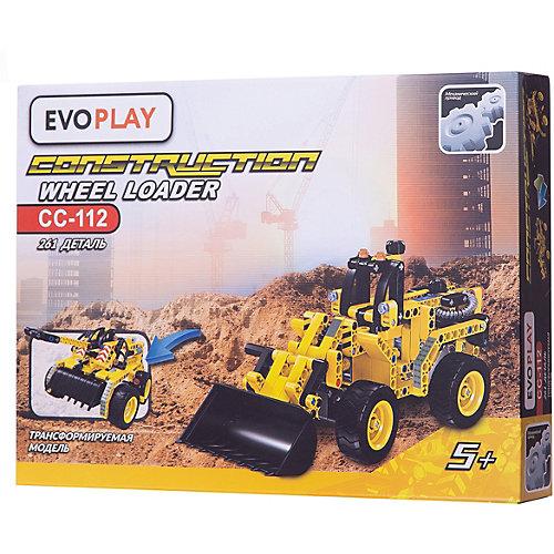 "Конструктор Evoplay ""Wheel Loader"", 261 деталь от EvoPlay"