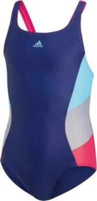Adidas Badeanzug Uv schutz 50 Für Mädchen Blau Kinder