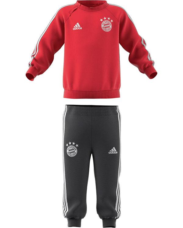 farblich passend wie kauft man große Auswahl an Farben und Designs Baby Jogginganzug FC Bayern München für Jungen, Fußballverein FC Bayern  München