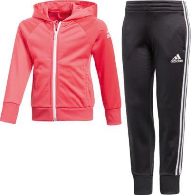 Trainingsanzug für Mädchen, adidas Performance