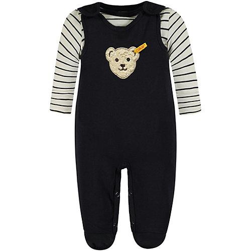 Steiff Baby Set Langarmshirt + Strampler Gr. 62 Jungen Baby | 04056178843525