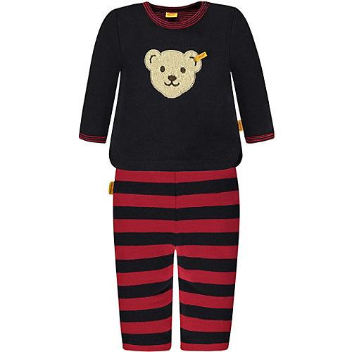 Steiff Baby Set Sweatshirt + Sweathose Gr. 56 Jungen Baby | 04056178842764