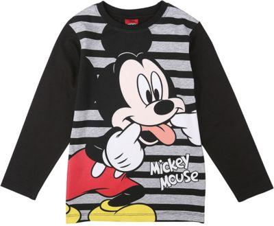 Jungen Langarmshirt Mickey Mouse Baby