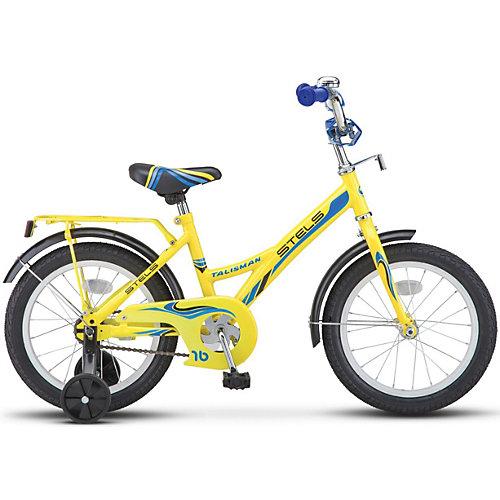 Детский велосипед Stels Talisman 14 дюймов (Z010) 9.5 дюймов, желтый - желтый от Stels