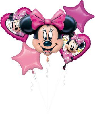 Baby MINNIE MAUS Folienballon Luftballon Ballon rosa Mädchen Babyparty Party