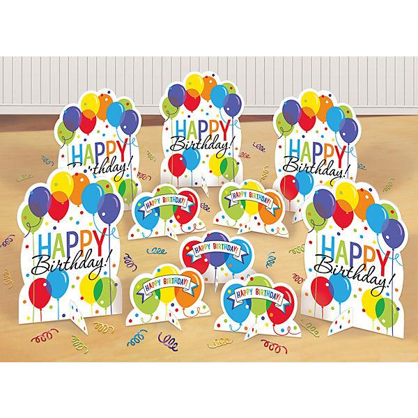 Tischdeko-Set Balloon Bash, 11-tlg., Amscan
