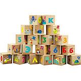 "Мягкие кубики Little Hero ""Буквы и цифры"""