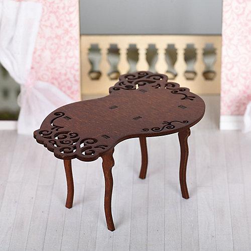 """Набор мебели Одним прекрасным утром """"Стол резной"""", коричневый от ЯиГрушка"""