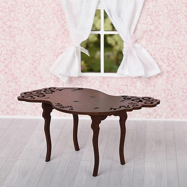 """Набор мебели Одним прекрасным утром """"Стол резной"""", коричневый"""