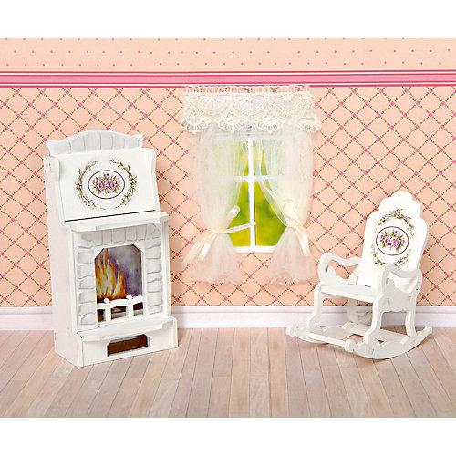 """Набор мебели Одним прекрасным утром """"Прованс"""" Камин и кресло-качалка от ЯиГрушка"""