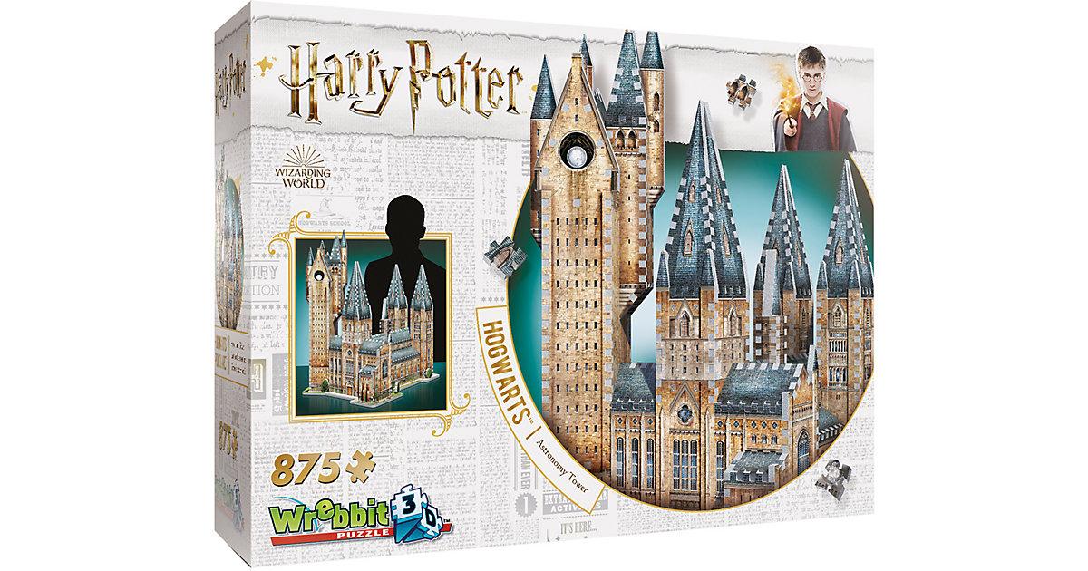 Wrebbit 3D Puzzle 875 Teile Harry Potter Hogwar...