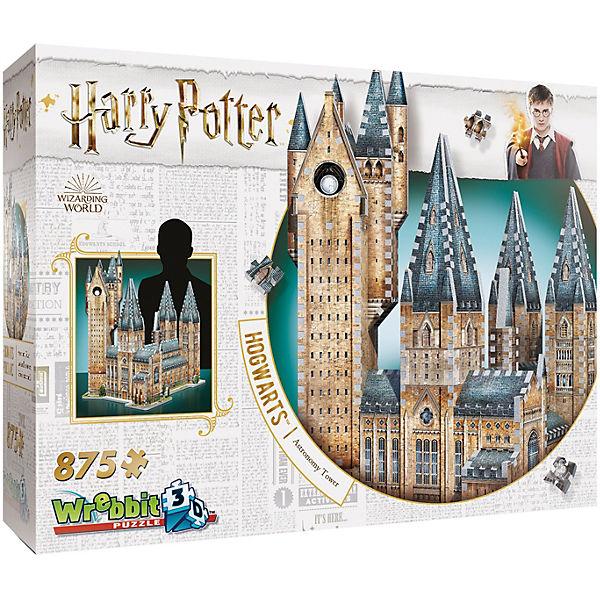 3d Puzzle Harry Potter Hogwarts Astronomieturm 875 Teile Harry Potter Mytoys