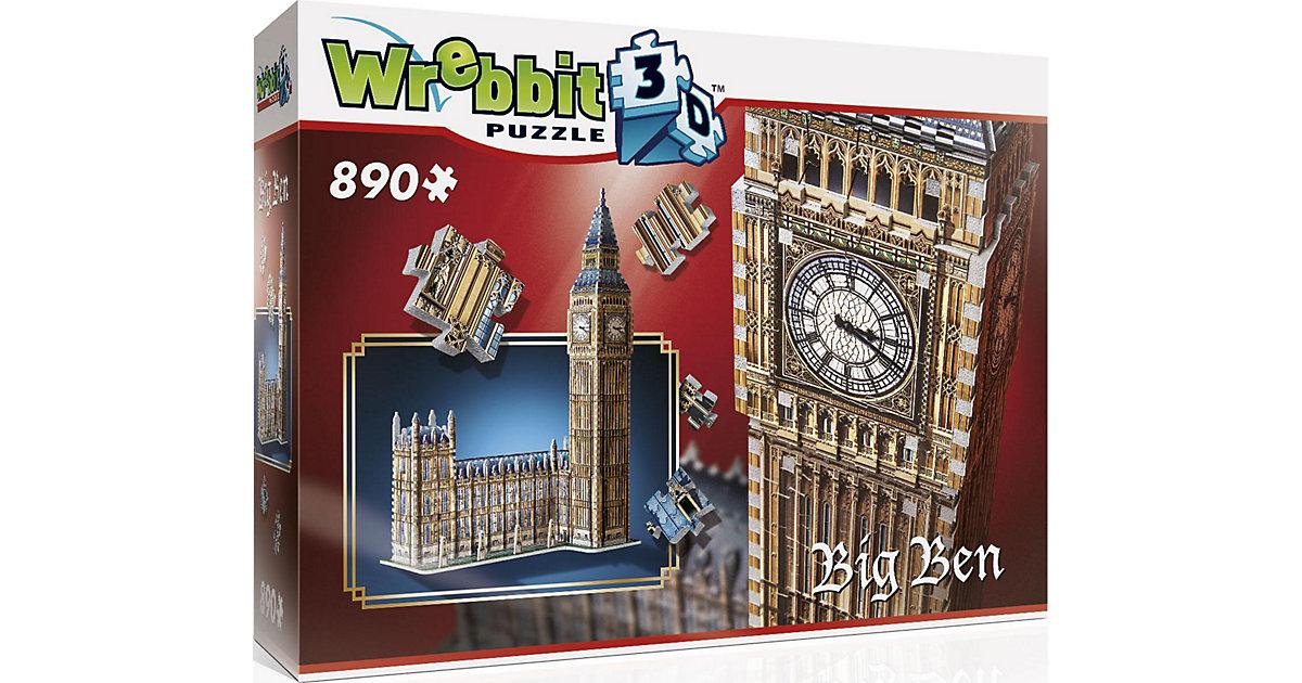 WREBBIT · Wrebbit 3D Puzzle 890 Teile Big Ben & House of Parliament