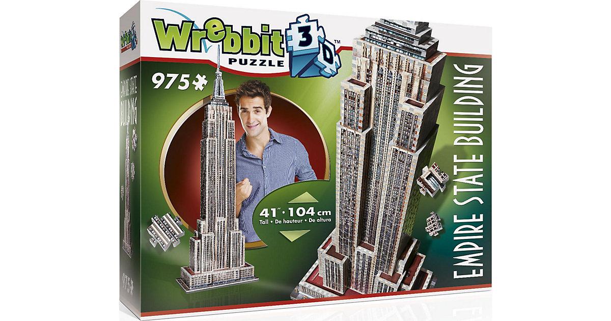 Wrebbit 3D Puzzle 975 Teile Empire State Building