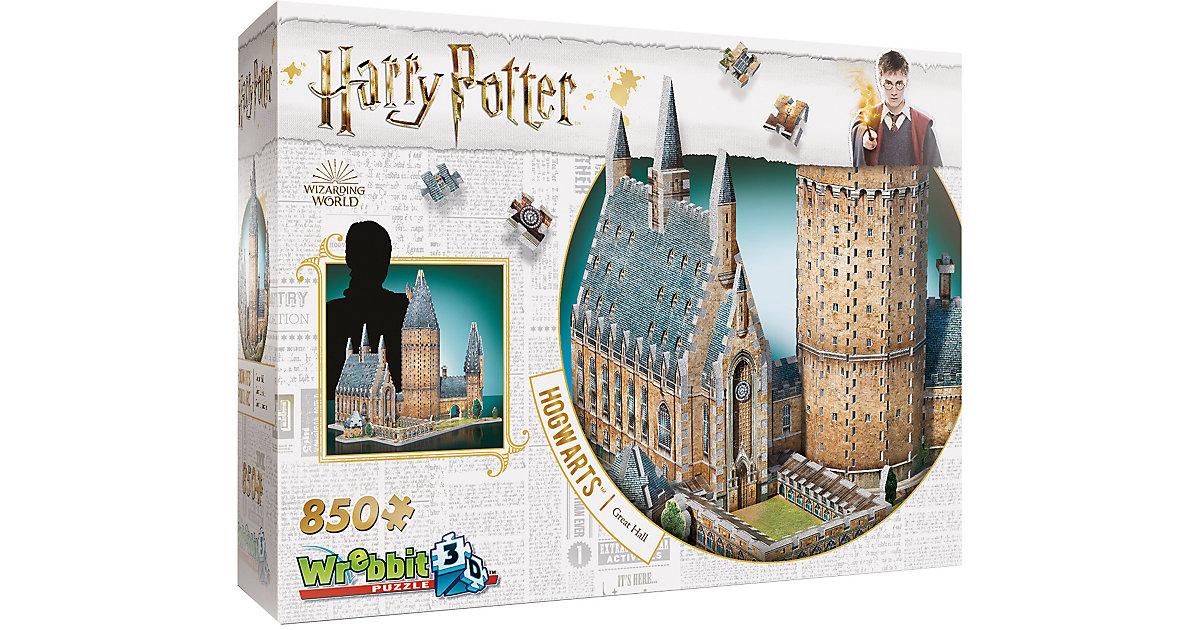 Wrebbit 3D Puzzle 850 Teile Harry Potter Hogwar...