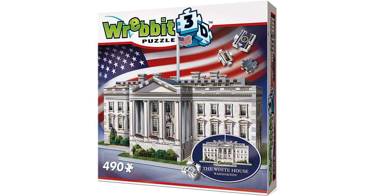 Wrebbit 3D Puzzle 490 Teile The White House - W...