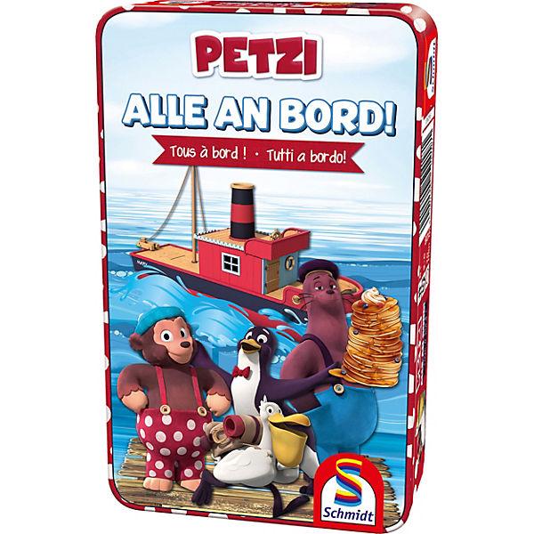 Petzi, Alle an Schmidt Bord!, Schmidt an Spiele 6b1b3e