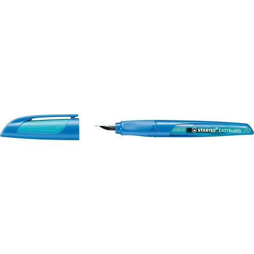"""Перьевая ручка Stabilo """"Easybirdy"""", сине/голубой, синий картридж от STABILO"""