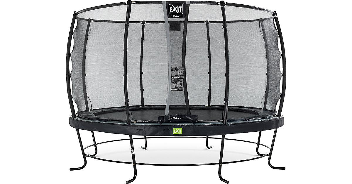 EXIT · Trampolin Elegant Trampoline 366 cm + Sicherheitsnetz Deluxe, schwarz