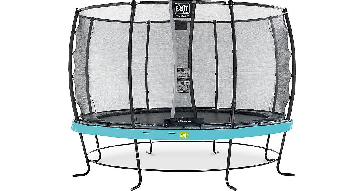 EXIT · Trampolin Elegant Trampoline 366 cm + Sicherheitsnetz Deluxe, blau