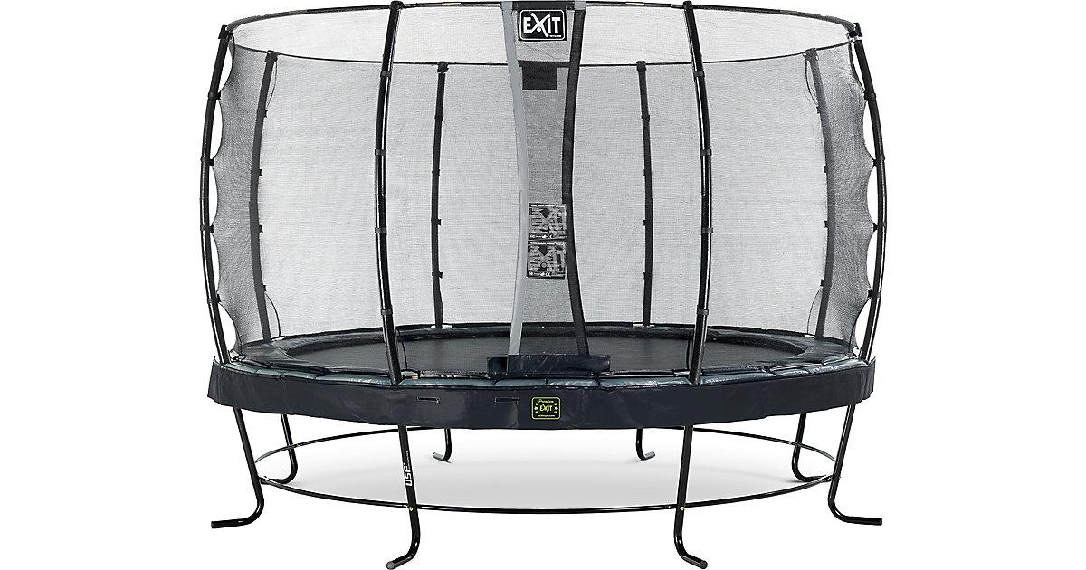 EXIT · Trampolin Elegant Premium 366 cm + Sicherheitsnetz Economy, schwarz