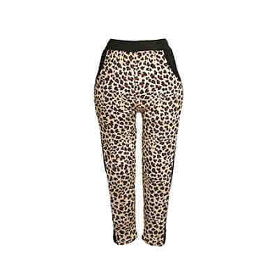 family-trends Thermo-Leggings mit auffälligem Leo-Print Leggings