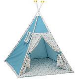 """Палатка-вигвам детская Polini Disney """"Последний богатырь"""", лес голубой"""