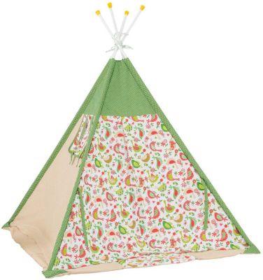 Палатка-вигвам детская Polini Кантри, зеленая
