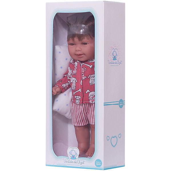 """Кукла-пупс Vestida de Azul """"Сплюшки"""" Мико, 30 см"""