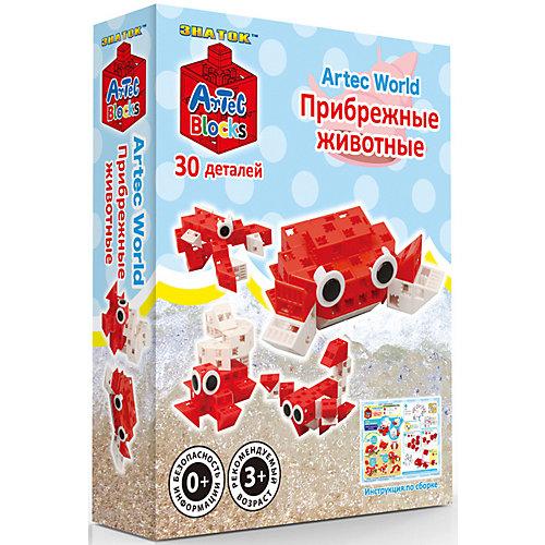 """Конструктор Знаток """"Artec  Bloks"""" Прибрежные животные, 30 деталей от Знаток"""
