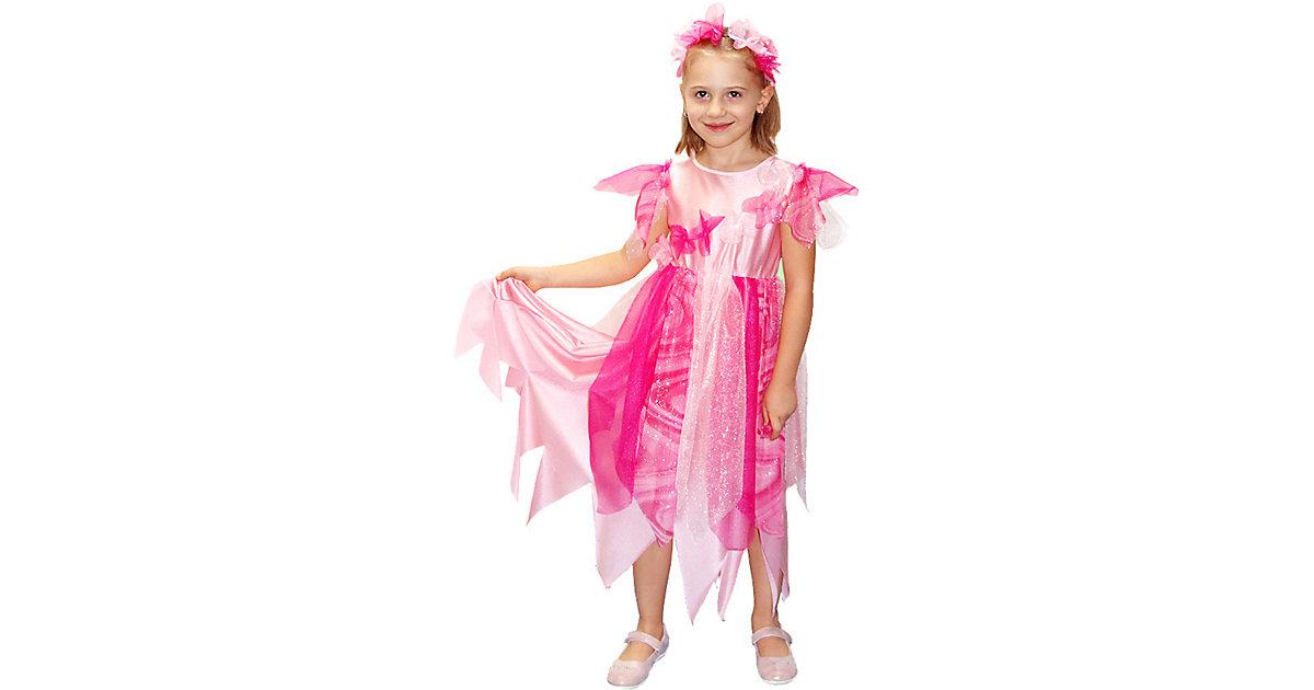 Kostüm Fee, rosa Gr. 110/116 Mädchen Kinder