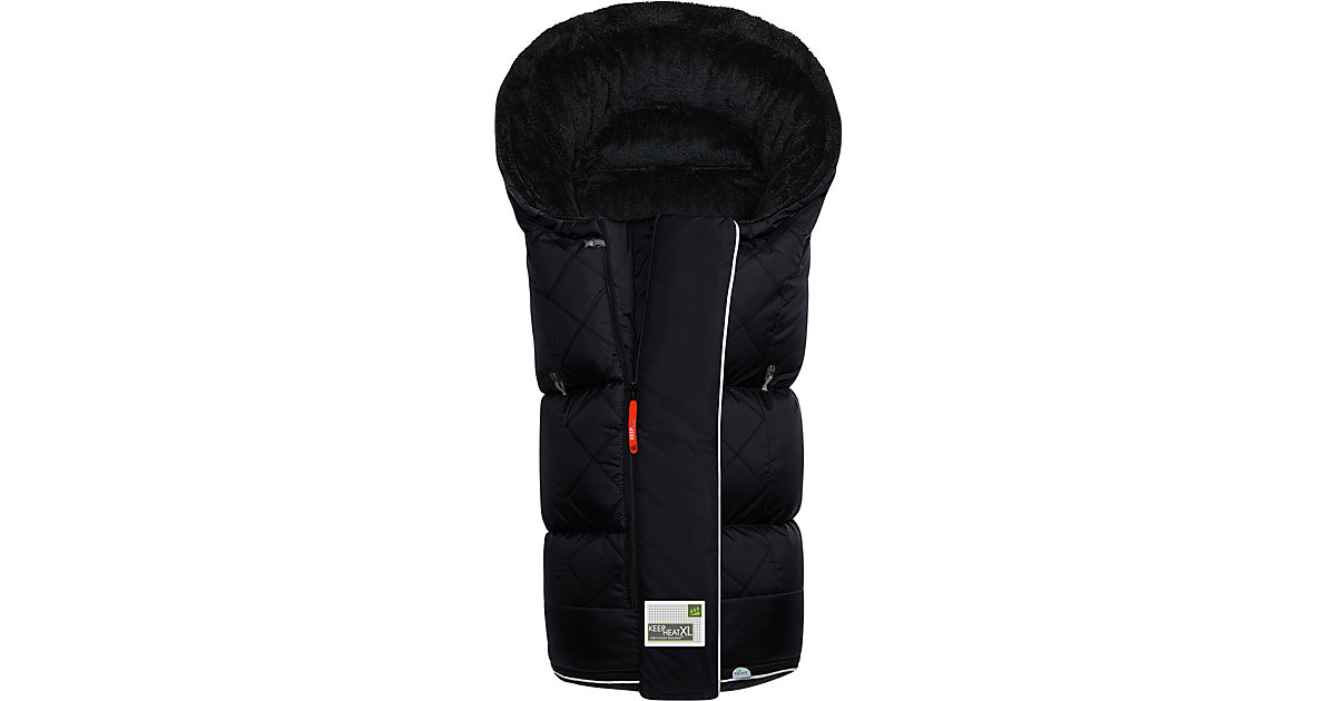 Fußsack Keep Heat XL, schwarz
