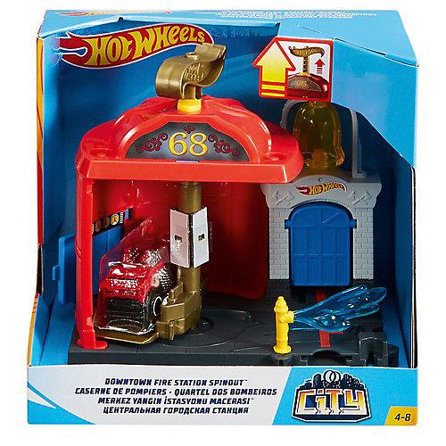 """Автотрек Hot Wheels """"Сити"""" Центральная городская станция от Mattel"""