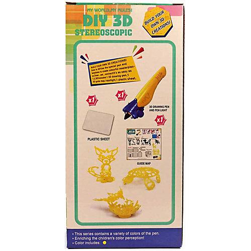 """3Д ручка DIY 3D Stereoscopic """"3D Magic Glue"""" Домик собачки, 1 ручка от 3D Stereoscopic"""