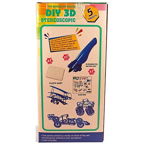"3Д ручка DIY 3D Stereoscopic ""3D Magic Glue"" Машинка, 1 ручка от 3D Stereoscopic"