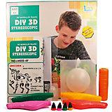 """3Д ручка DIY 3D Stereoscopic """"3D Magic Glue"""" Сказочные персонажи"""", 4 ручки"""